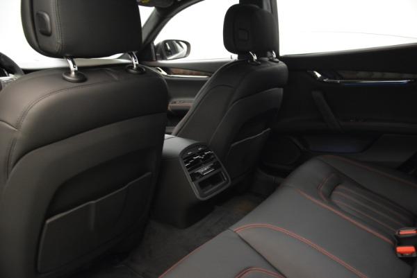 Used 2018 Maserati Quattroporte S Q4 GranLusso for sale Sold at Bugatti of Greenwich in Greenwich CT 06830 19