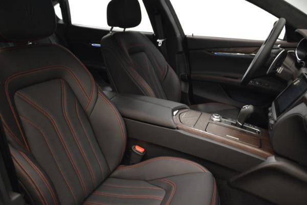 Used 2018 Maserati Quattroporte S Q4 GranLusso for sale Sold at Bugatti of Greenwich in Greenwich CT 06830 22