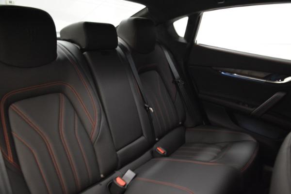 Used 2018 Maserati Quattroporte S Q4 GranLusso for sale Sold at Bugatti of Greenwich in Greenwich CT 06830 25