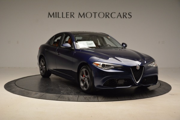 New 2018 Alfa Romeo Giulia Sport Q4 for sale Sold at Bugatti of Greenwich in Greenwich CT 06830 11