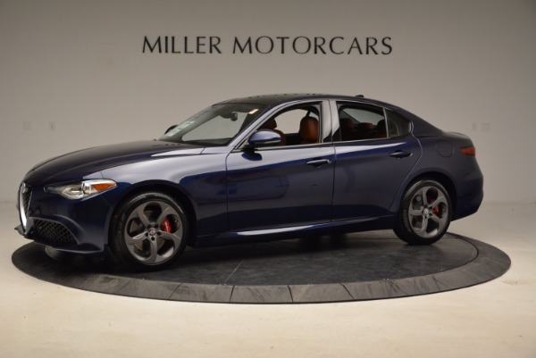 New 2018 Alfa Romeo Giulia Sport Q4 for sale Sold at Bugatti of Greenwich in Greenwich CT 06830 2