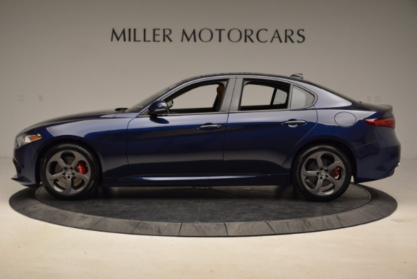 New 2018 Alfa Romeo Giulia Sport Q4 for sale Sold at Bugatti of Greenwich in Greenwich CT 06830 3