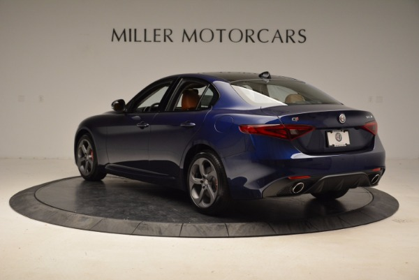 New 2018 Alfa Romeo Giulia Sport Q4 for sale Sold at Bugatti of Greenwich in Greenwich CT 06830 5