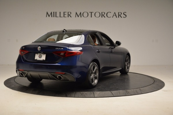 New 2018 Alfa Romeo Giulia Sport Q4 for sale Sold at Bugatti of Greenwich in Greenwich CT 06830 7