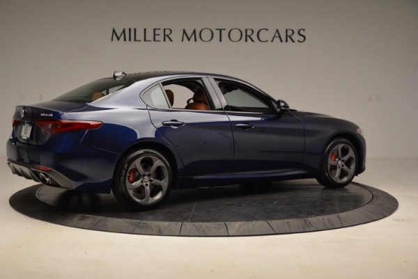 New 2018 Alfa Romeo Giulia Sport Q4 for sale Sold at Bugatti of Greenwich in Greenwich CT 06830 8