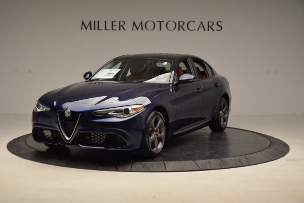 New 2018 Alfa Romeo Giulia Sport Q4 for sale Sold at Bugatti of Greenwich in Greenwich CT 06830 1