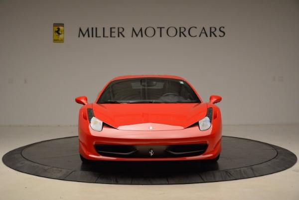 Used 2012 Ferrari 458 Italia for sale Sold at Bugatti of Greenwich in Greenwich CT 06830 12
