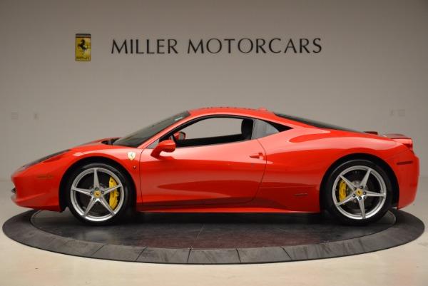 Used 2012 Ferrari 458 Italia for sale Sold at Bugatti of Greenwich in Greenwich CT 06830 3