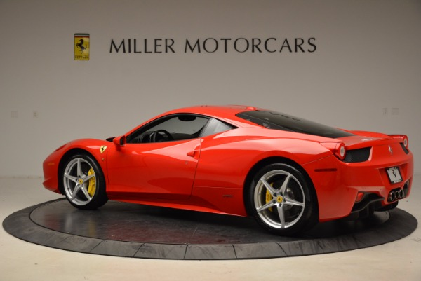 Used 2012 Ferrari 458 Italia for sale Sold at Bugatti of Greenwich in Greenwich CT 06830 4