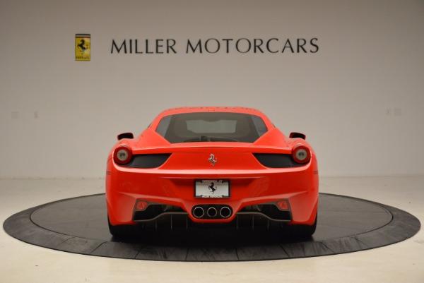 Used 2012 Ferrari 458 Italia for sale Sold at Bugatti of Greenwich in Greenwich CT 06830 6