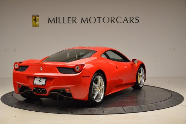 Used 2012 Ferrari 458 Italia for sale Sold at Bugatti of Greenwich in Greenwich CT 06830 7