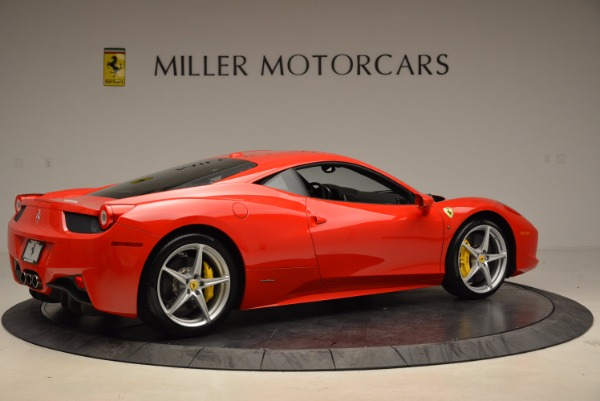 Used 2012 Ferrari 458 Italia for sale Sold at Bugatti of Greenwich in Greenwich CT 06830 8