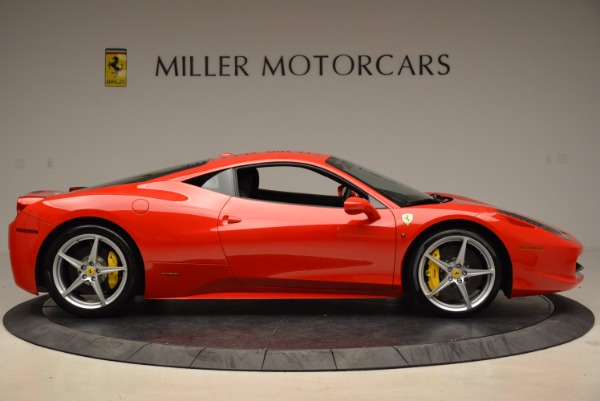 Used 2012 Ferrari 458 Italia for sale Sold at Bugatti of Greenwich in Greenwich CT 06830 9