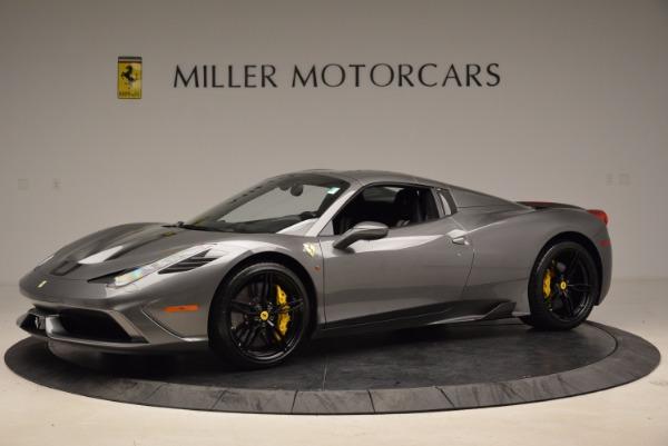 Used 2015 Ferrari 458 Speciale Aperta for sale Sold at Bugatti of Greenwich in Greenwich CT 06830 14
