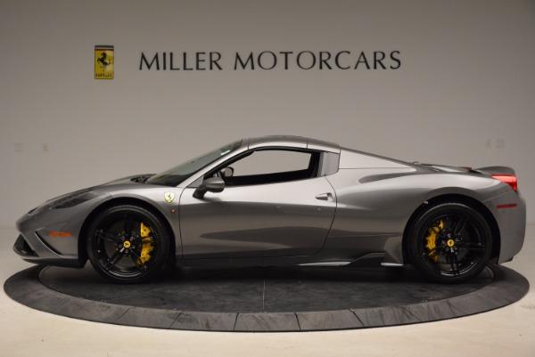 Used 2015 Ferrari 458 Speciale Aperta for sale Sold at Bugatti of Greenwich in Greenwich CT 06830 15