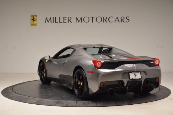Used 2015 Ferrari 458 Speciale Aperta for sale Sold at Bugatti of Greenwich in Greenwich CT 06830 17