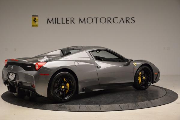 Used 2015 Ferrari 458 Speciale Aperta for sale Sold at Bugatti of Greenwich in Greenwich CT 06830 20