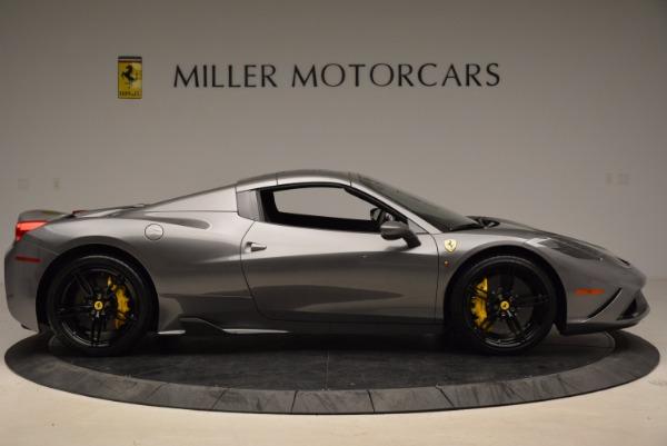 Used 2015 Ferrari 458 Speciale Aperta for sale Sold at Bugatti of Greenwich in Greenwich CT 06830 21