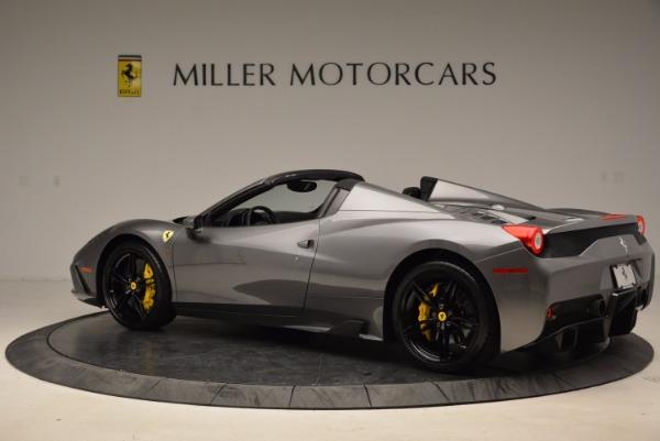 Used 2015 Ferrari 458 Speciale Aperta for sale Sold at Bugatti of Greenwich in Greenwich CT 06830 4