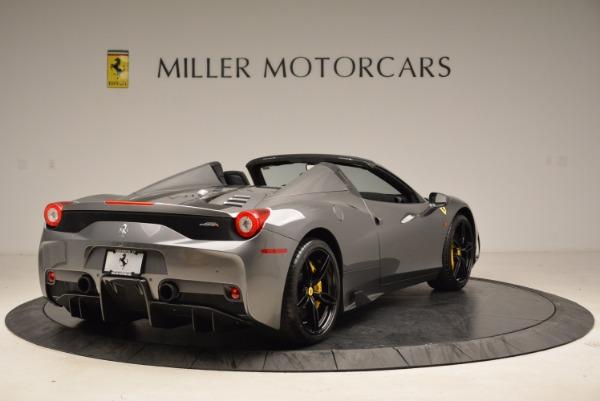 Used 2015 Ferrari 458 Speciale Aperta for sale Sold at Bugatti of Greenwich in Greenwich CT 06830 7