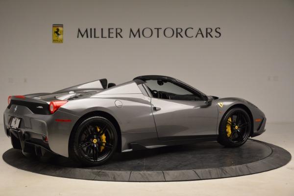 Used 2015 Ferrari 458 Speciale Aperta for sale Sold at Bugatti of Greenwich in Greenwich CT 06830 8