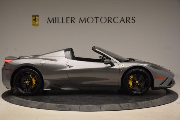 Used 2015 Ferrari 458 Speciale Aperta for sale Sold at Bugatti of Greenwich in Greenwich CT 06830 9