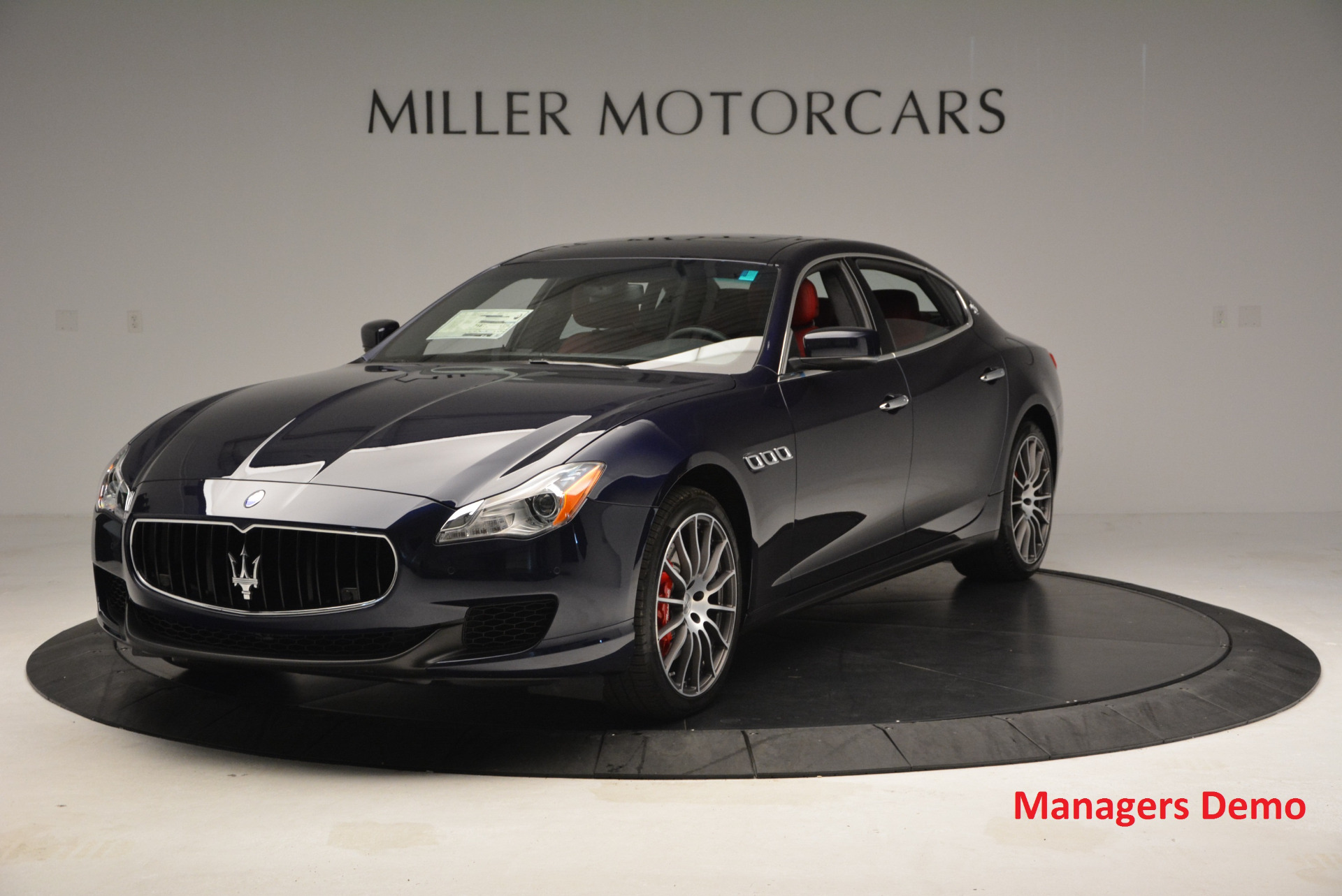 New 2016 Maserati Quattroporte S Q4  *******      DEALER'S  DEMO for sale Sold at Bugatti of Greenwich in Greenwich CT 06830 1