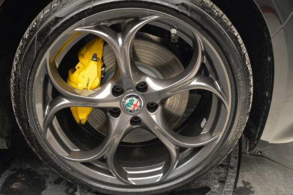New 2018 Alfa Romeo Giulia Ti Sport Q4 for sale Sold at Bugatti of Greenwich in Greenwich CT 06830 25