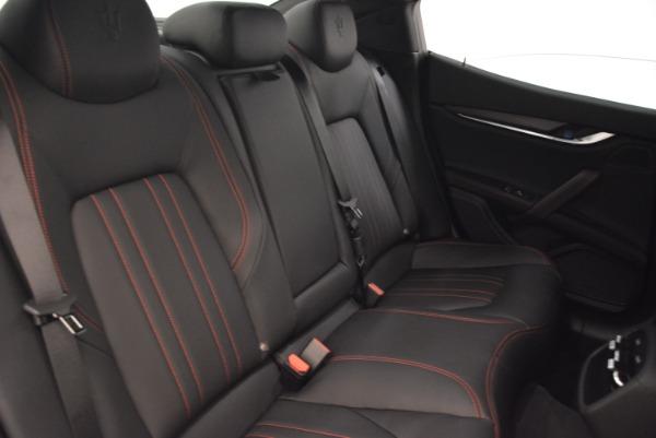 New 2018 Maserati Ghibli S Q4 for sale Sold at Bugatti of Greenwich in Greenwich CT 06830 25
