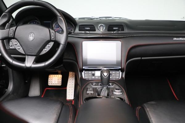 New 2018 Maserati GranTurismo Sport Convertible for sale Sold at Bugatti of Greenwich in Greenwich CT 06830 28