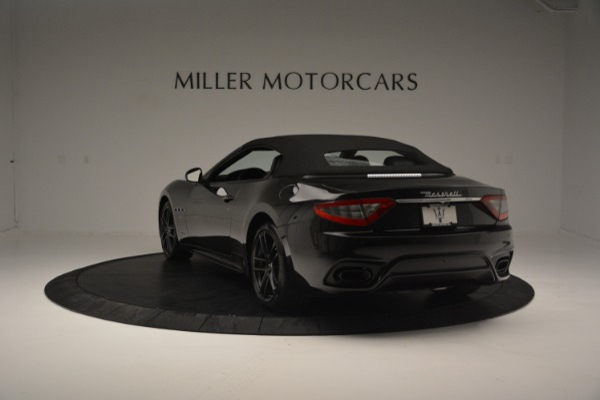 New 2018 Maserati GranTurismo Sport Convertible for sale Sold at Bugatti of Greenwich in Greenwich CT 06830 7