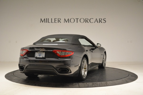 Used 2018 Maserati GranTurismo Sport Convertible for sale Sold at Bugatti of Greenwich in Greenwich CT 06830 17