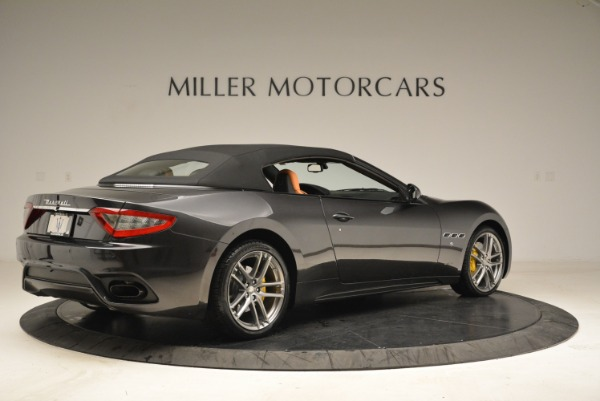 Used 2018 Maserati GranTurismo Sport Convertible for sale Sold at Bugatti of Greenwich in Greenwich CT 06830 18