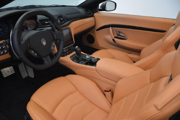 Used 2018 Maserati GranTurismo Sport Convertible for sale Sold at Bugatti of Greenwich in Greenwich CT 06830 23