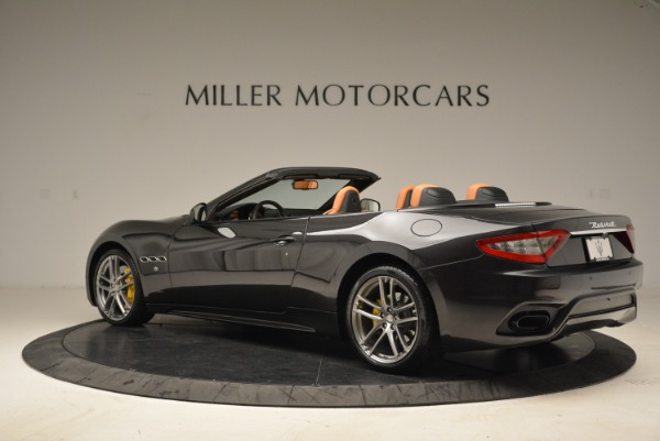 Used 2018 Maserati GranTurismo Sport Convertible for sale Sold at Bugatti of Greenwich in Greenwich CT 06830 3