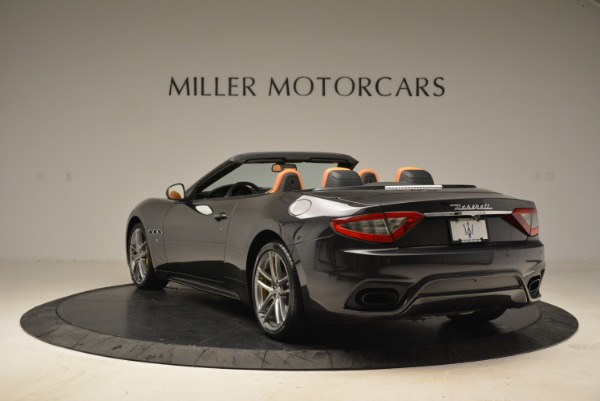 Used 2018 Maserati GranTurismo Sport Convertible for sale Sold at Bugatti of Greenwich in Greenwich CT 06830 4
