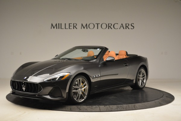 Used 2018 Maserati GranTurismo Sport Convertible for sale Sold at Bugatti of Greenwich in Greenwich CT 06830 1