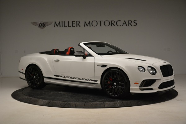 Used 2018 Bentley Continental GTC Supersports Convertible for sale Sold at Bugatti of Greenwich in Greenwich CT 06830 10