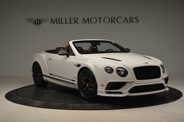 Used 2018 Bentley Continental GTC Supersports Convertible for sale Sold at Bugatti of Greenwich in Greenwich CT 06830 11