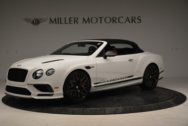 Used 2018 Bentley Continental GTC Supersports Convertible for sale Sold at Bugatti of Greenwich in Greenwich CT 06830 13