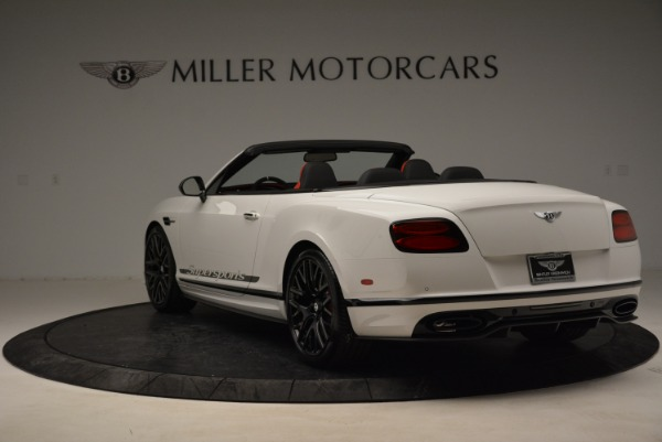 Used 2018 Bentley Continental GTC Supersports Convertible for sale Sold at Bugatti of Greenwich in Greenwich CT 06830 5