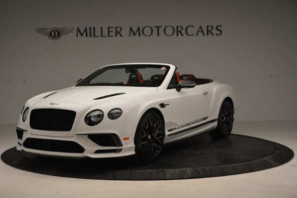 Used 2018 Bentley Continental GTC Supersports Convertible for sale Sold at Bugatti of Greenwich in Greenwich CT 06830 1