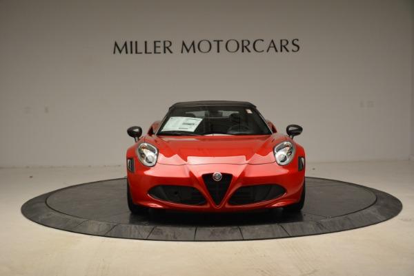 New 2018 Alfa Romeo 4C Spider for sale Sold at Bugatti of Greenwich in Greenwich CT 06830 18
