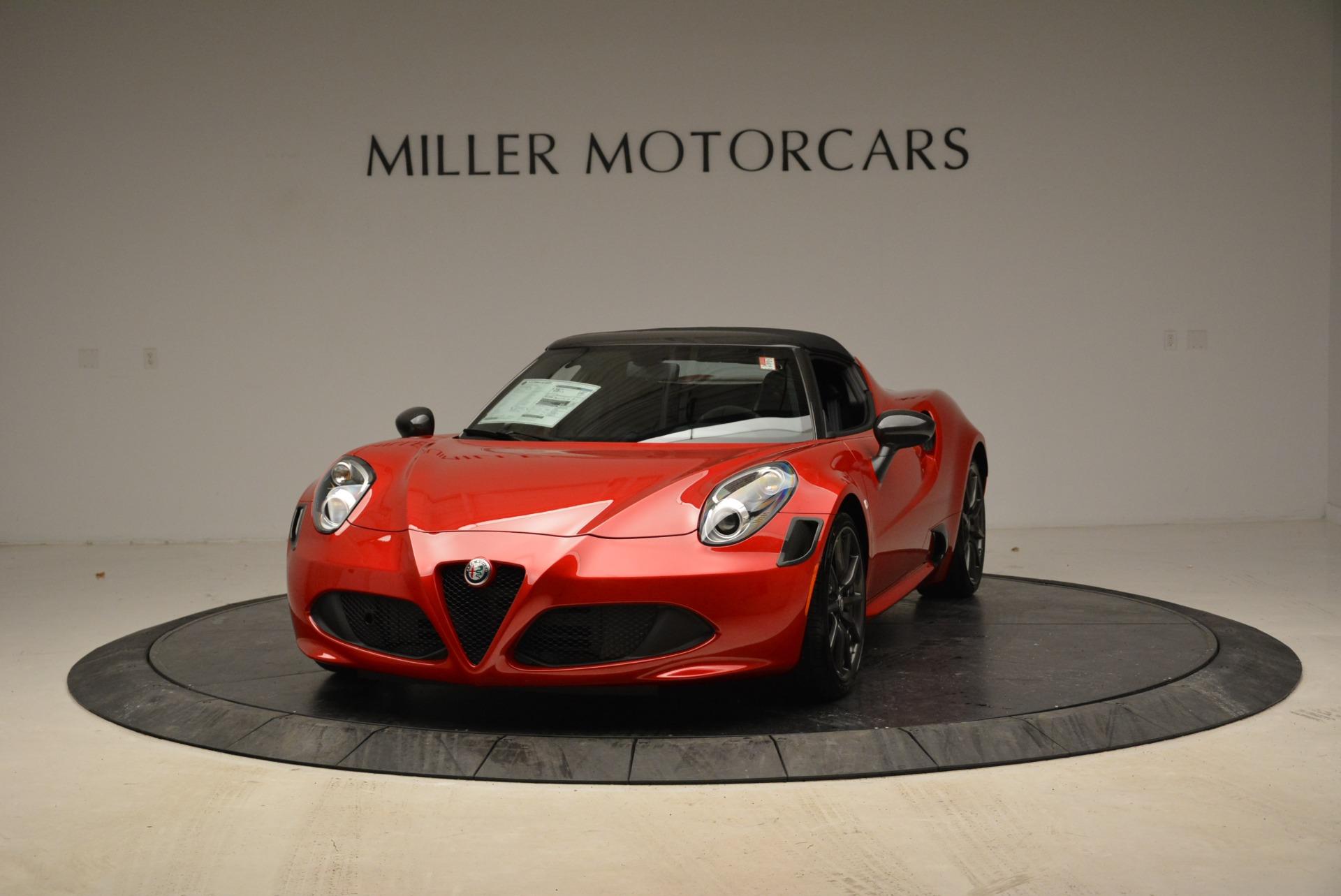 New 2018 Alfa Romeo 4C Spider for sale Sold at Bugatti of Greenwich in Greenwich CT 06830 1