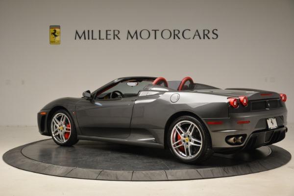 Used 2008 Ferrari F430 Spider for sale Sold at Bugatti of Greenwich in Greenwich CT 06830 4