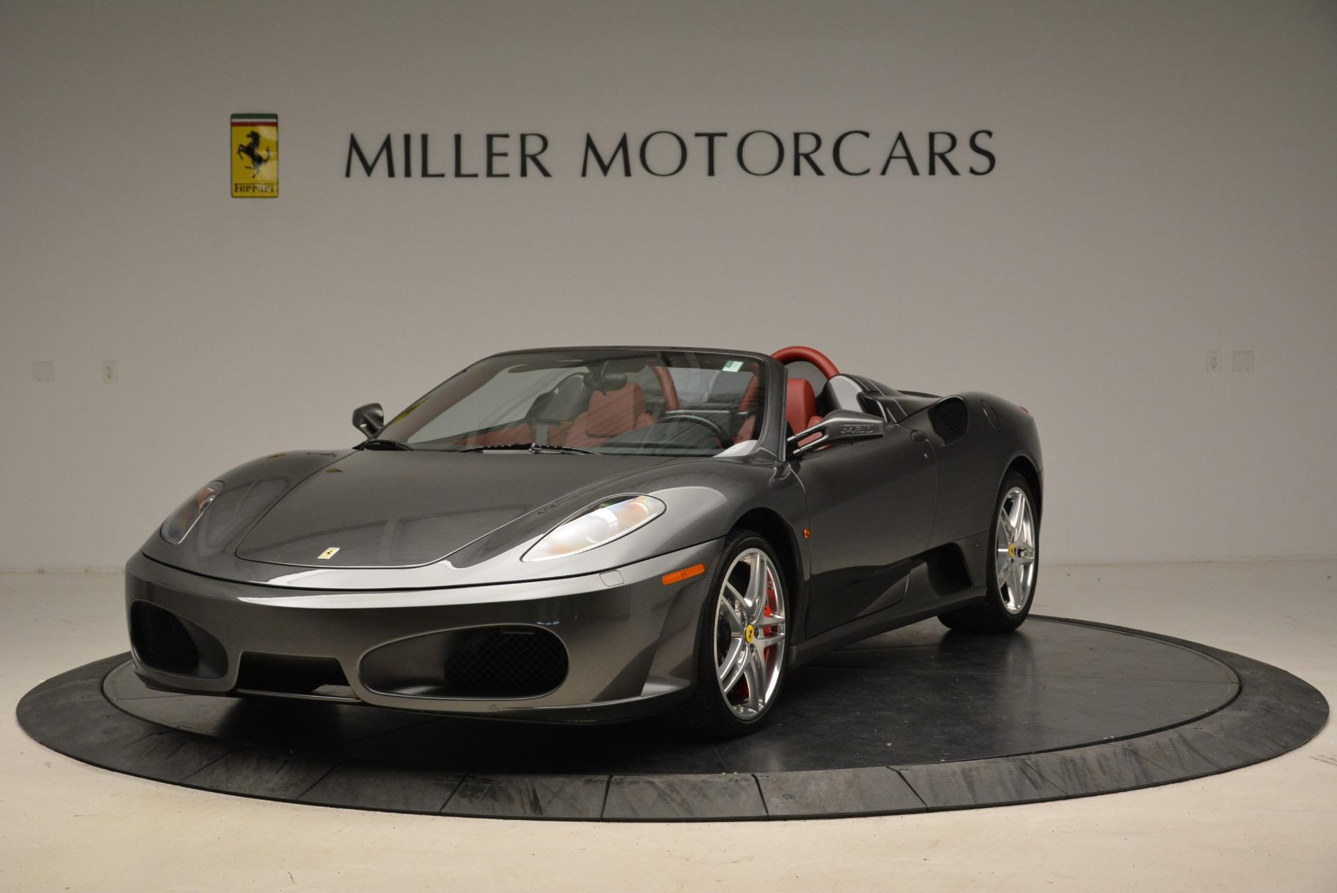 Used 2008 Ferrari F430 Spider for sale Sold at Bugatti of Greenwich in Greenwich CT 06830 1