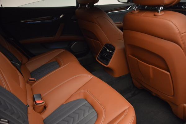 New 2018 Maserati Quattroporte S Q4 GranLusso for sale Sold at Bugatti of Greenwich in Greenwich CT 06830 22
