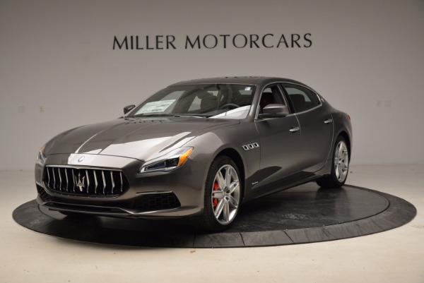 New 2018 Maserati Quattroporte S Q4 GranLusso for sale Sold at Bugatti of Greenwich in Greenwich CT 06830 1