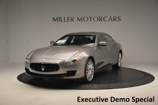 New 2016 Maserati Quattroporte S Q4 for sale Sold at Bugatti of Greenwich in Greenwich CT 06830 1
