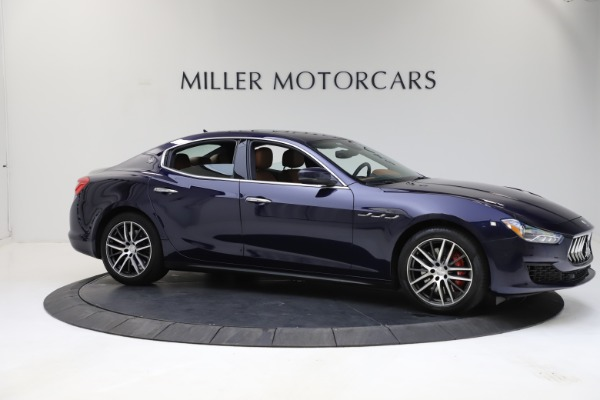 Used 2018 Maserati Ghibli S Q4 for sale $53,900 at Bugatti of Greenwich in Greenwich CT 06830 10